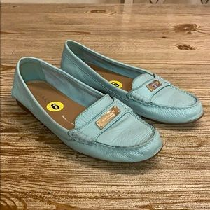Coach slip on loafers, size 9